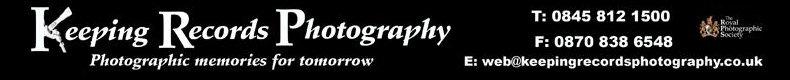 Keeping Records Photograhy
