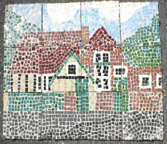 Mosaic of West Lavington School click for details
