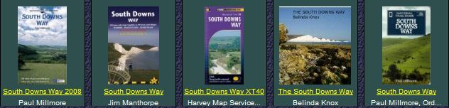 Books on the South Downs  Way