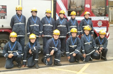 Midhurst students fire break success 2014