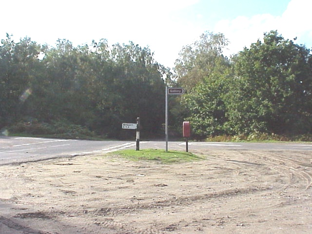 Hoyle Crossroads - looking in direction of travel