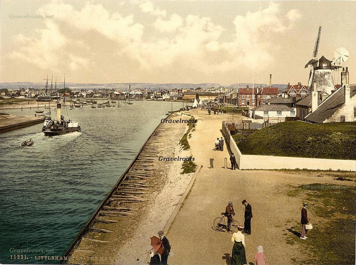 Littlehampton Pier, Sussex, c.1898-1904, ref- 009 -  further image below