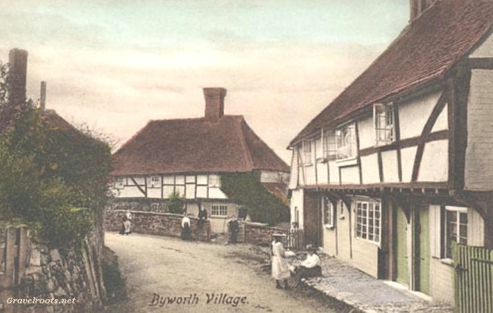 Old photos of Byworth, Sussex, c.1905-07 -  