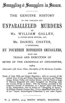 Chichester Smugglers click to enlarge