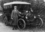 First Petworth motorised post van - click to enlarge