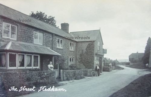 The street, Stedham -  click for Vintage trail link - close page to return