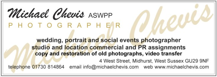 Michael Chevis, Photographer, West Street, Midhurst, West Sussex