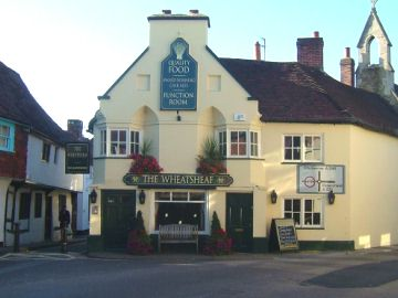 Wheatsheaf Pub, Midhurst - photo- Phil Dixon Sep 09
