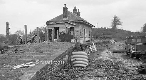 Selham Station in the 1960s - click for more