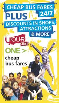 Click here for cheap bus fares and discounts with the 