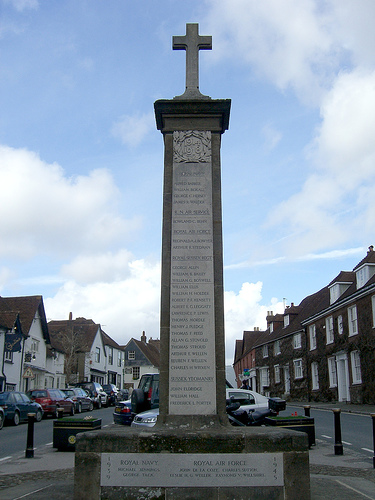 Midhurst war memorial - click to view from other side
