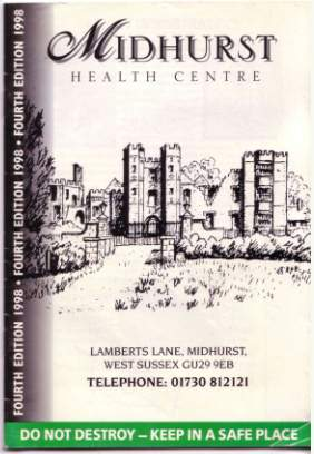 cover of Health centre handbook 1998 image © gravelroots