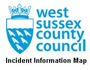 West Sussex County Council Incident Map